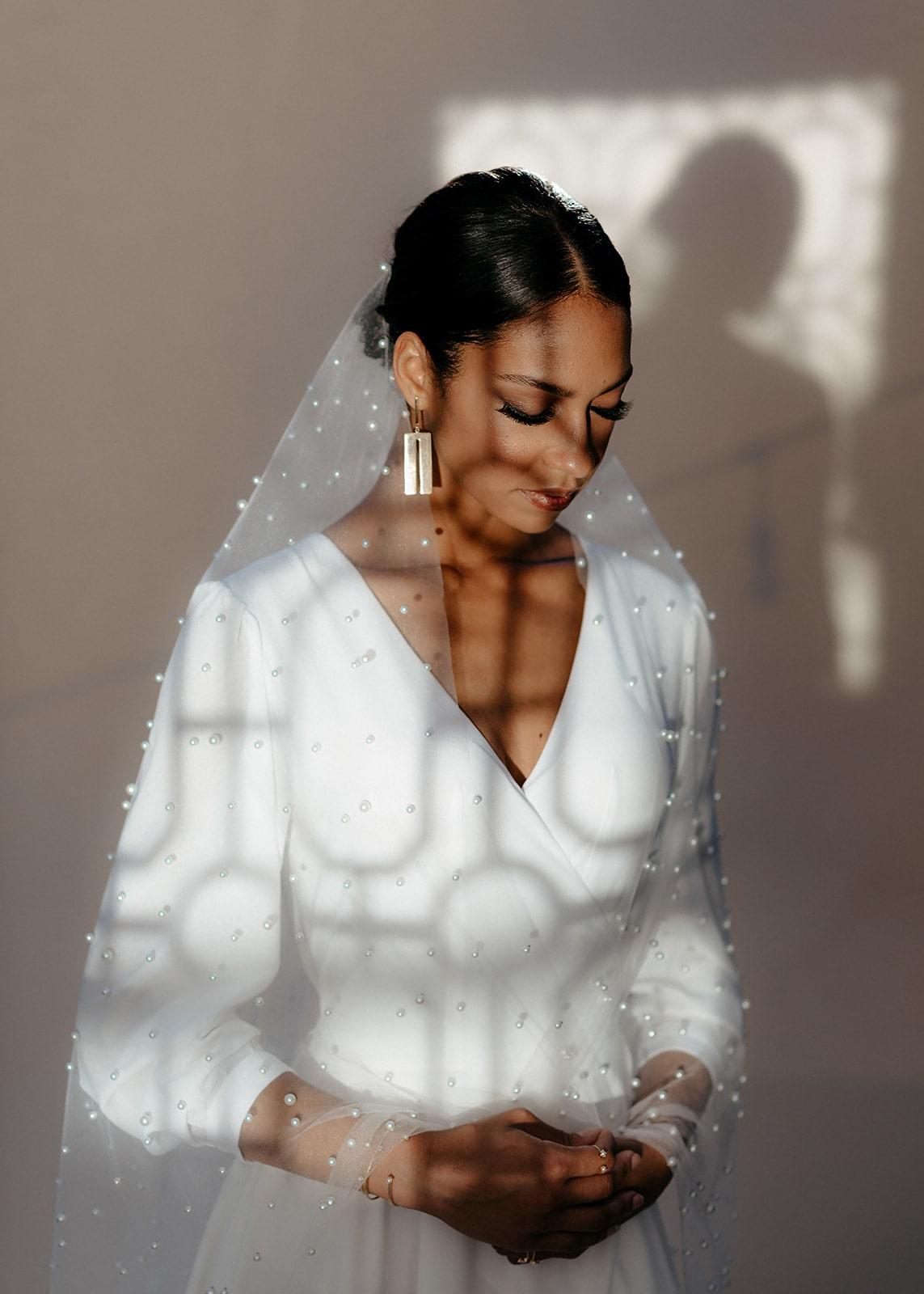 Bridal Separates // Celeste Bridal Wrap Dress