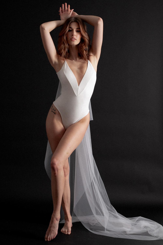 Bridal Separates // Rowen Bodysuit