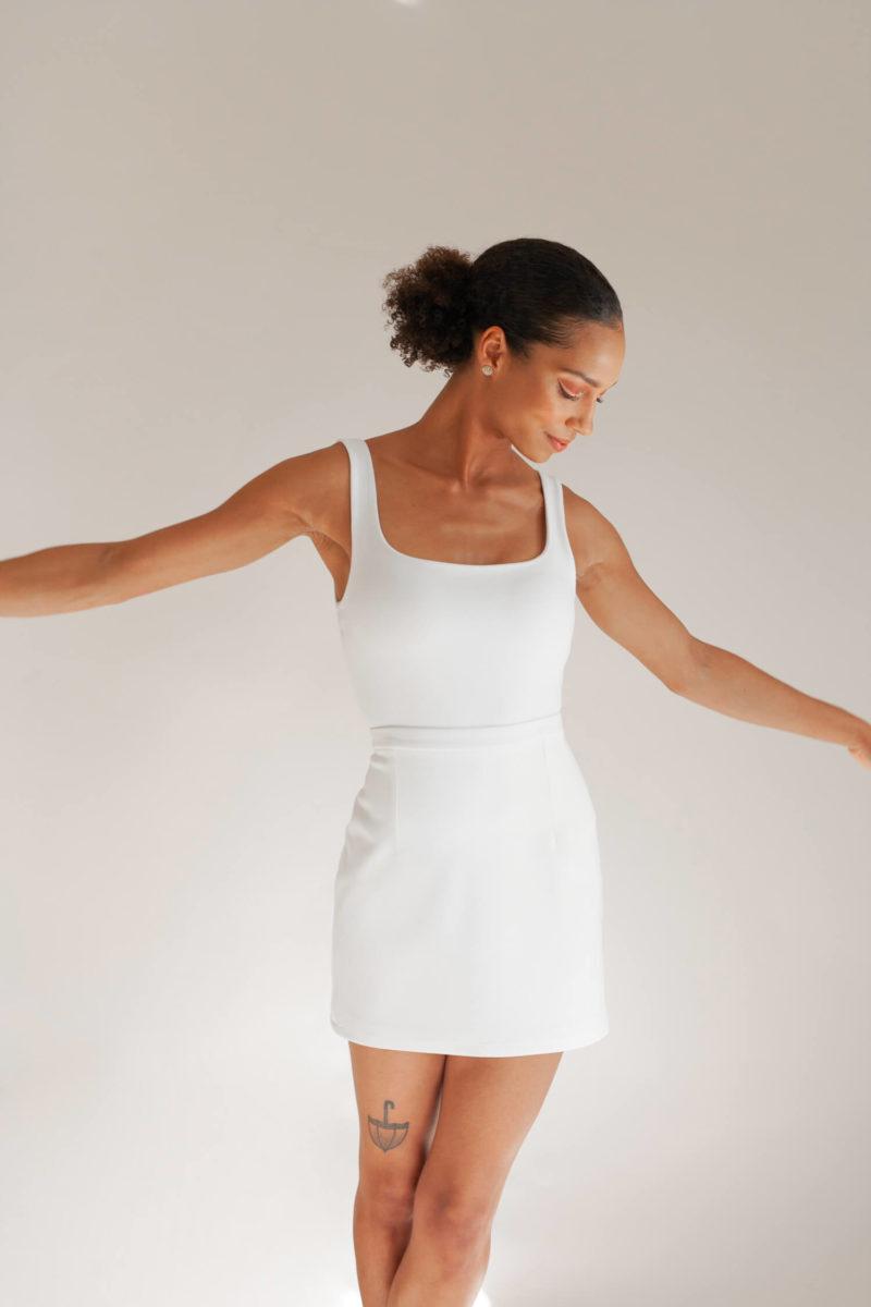 Ash Bodysuit & Portia Mini Skirt