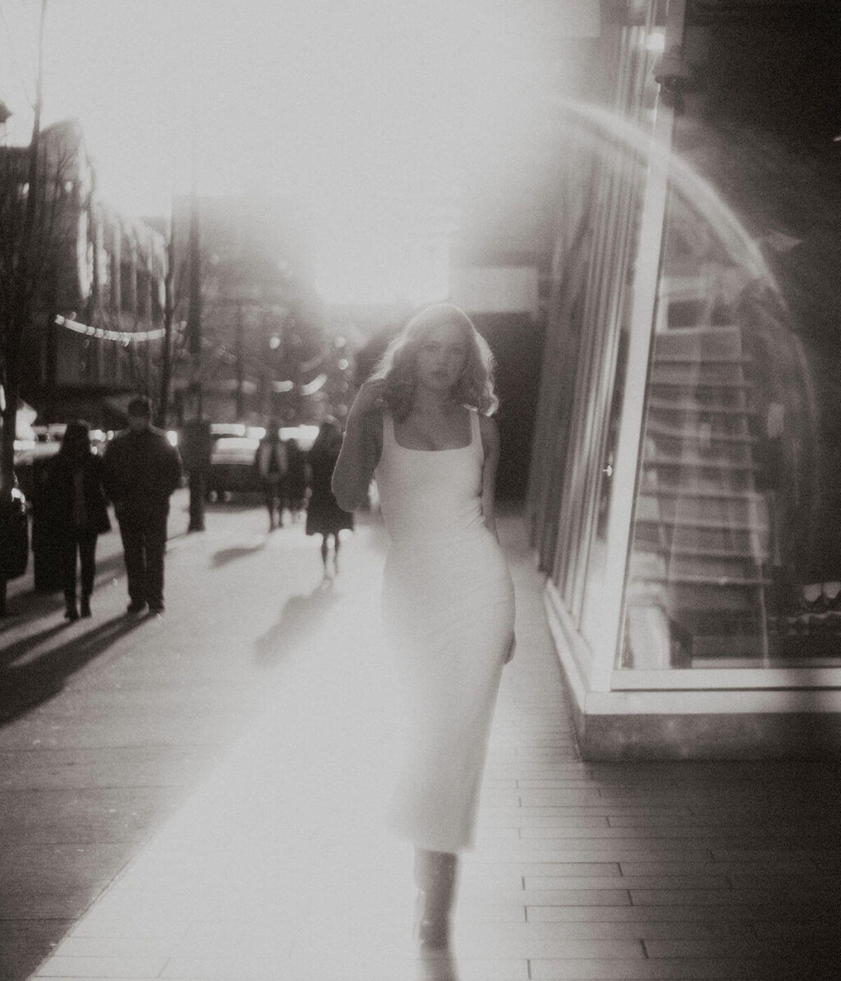 Wedding Dress // Ash Bodysuit & Portia Ankle Skirt